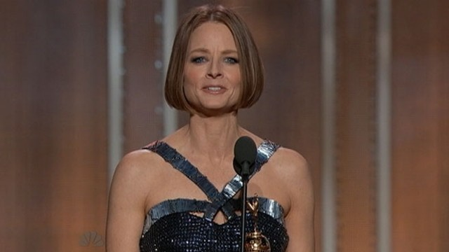 VIDEO: Jodie Foster's 2013 Golden Globe Awards acceptance speech.