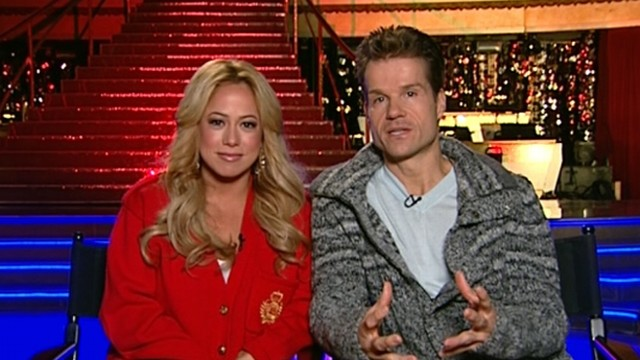 VIDEO: Actress, partner Louis Van Amstel discuss elimination from popular reality series.