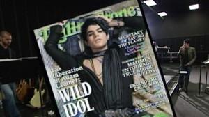 "VIDEO: Adam Lambert, the ""American Idol"" star admits hes gay."