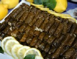 PHOTO: Maria Lois grape leaves recipe is shown here.