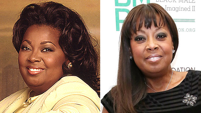 """PHOTO:Star Jones is shown while on """"The View,"""" left, and in March 2013."""