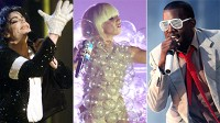 PHOTO Michael Jackson, Lady Gaga, and Kanye West are shown in these file photos.