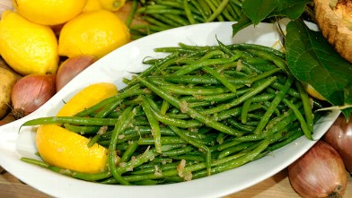 PHOTO:Jacques Pepin's Haricot Verts and Shallots