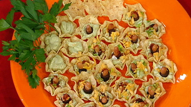 PHOTO: Diane Henderiks' Seven Layer Dip Bites are shown.