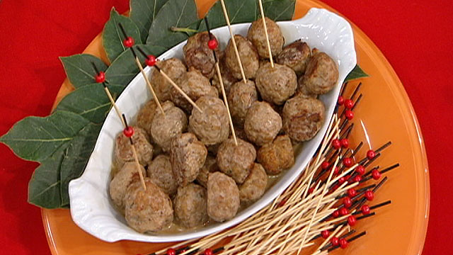 PHOTO: Diane Henderiks' Swedish Turkey Meatballs are shown.