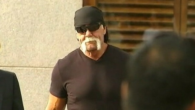 VIDEO: Hulk Hogan's lawsuit alleges that a Florida couple secretly filmed him during sex.