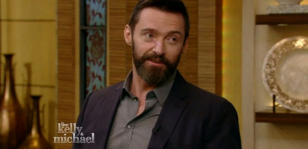 "The actor explains on ""Live with Kelly & Michael"" why he ""went commando"" as Wolverine."
