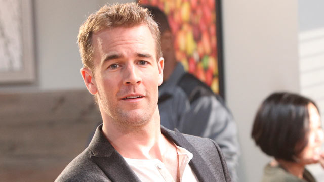 "PHOTO: James Van Der Beek in ""Don't Trust the B---- in Apartment 23,"" episode airing April 18, 2012."