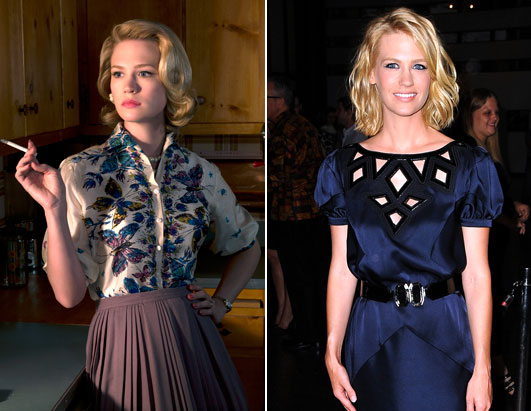 Mad Men Fashion January Jones