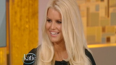 PHOTO: Jessica Simpson appears on Katie Couric on ABC, Sept. 10, 2012.