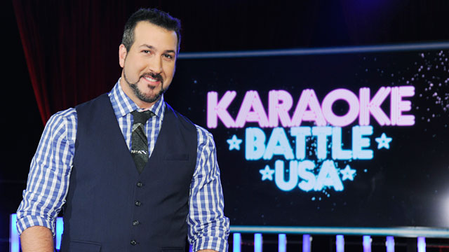PHOTO: American singer, dancer, actor and television personality Joey Fatone, best known as a member of international pop phenomenon NSYNC.