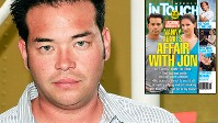 PHOTO InTouch Weekly featuring Jon Gosselin