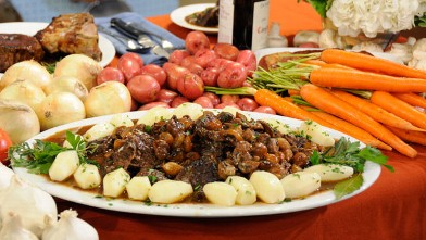 PHOTO: Julia Child's beef bourguignon is shown.