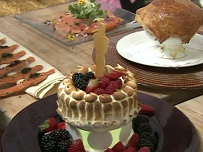 Video: Wolfgang Puck previews the Governors ball menu.