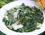 PHOTO: Rachael Rays kale Caesar salad is shown here.