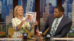 VIDEO: Kelly Ripa says her June vacation to Paris and the Greek islands all came together beautifully.
