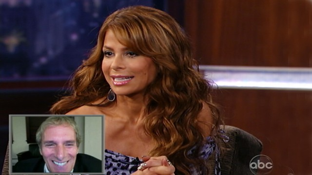 VIDEO: Abdul says Michael Bolton was disinterested when working as her babysitter.