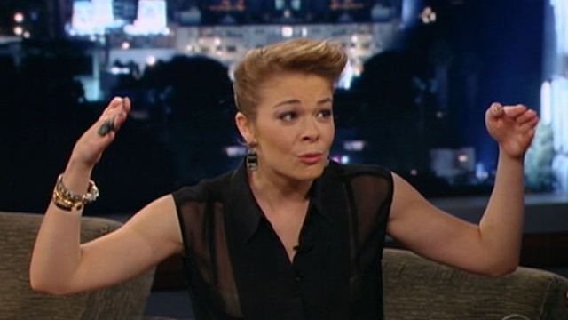 VIDEO: LeAnn Rimes talks to Jimmy Kimmel about facing attacks from the reality shows cast.