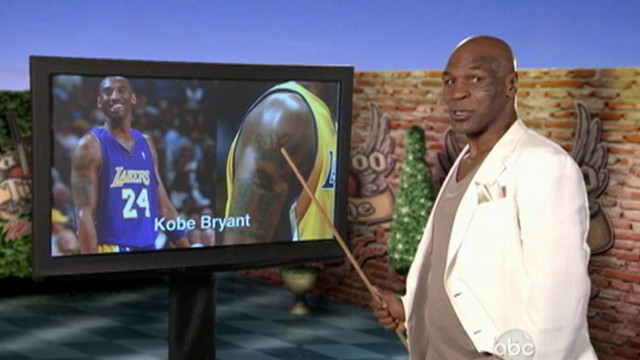 VIDEO: Mike Tyson grades tattoos of NBA players.