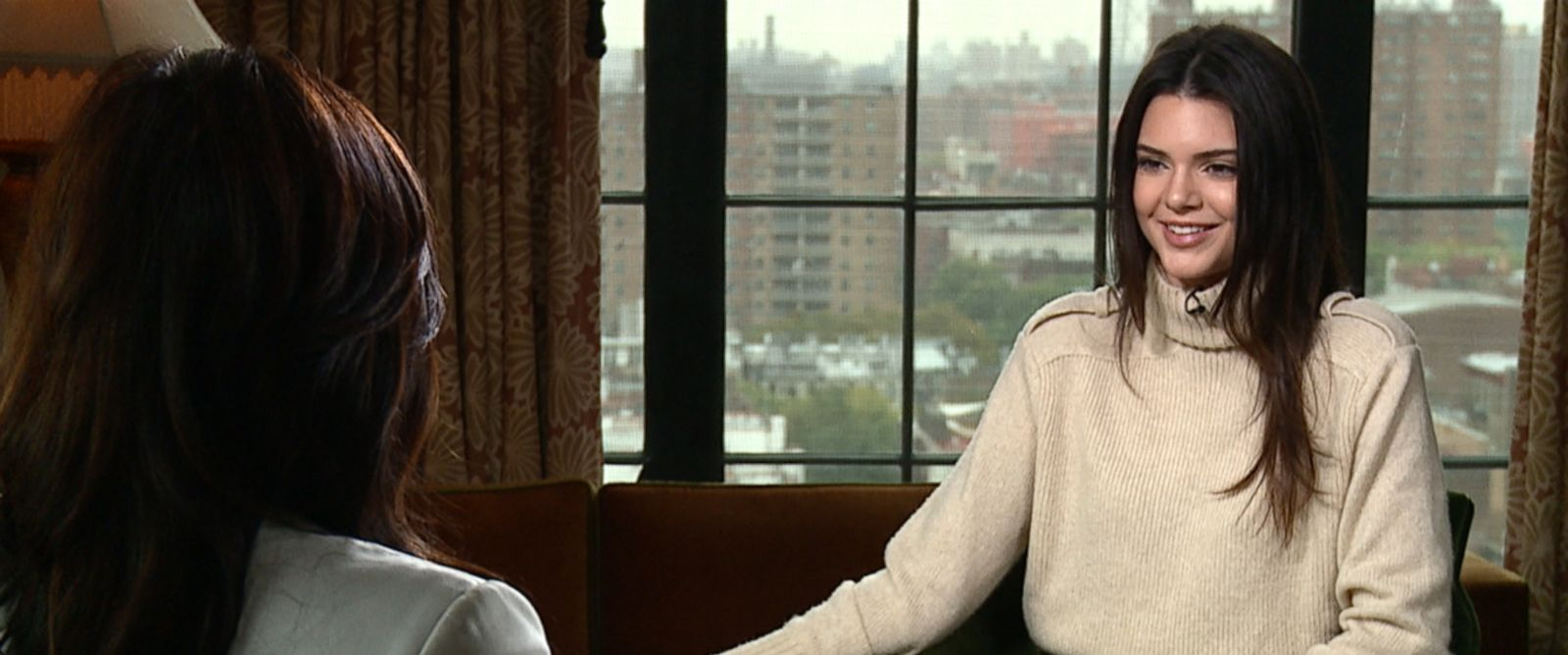 "Kendall Jenner sat down with ABCs Juju Chang in an interview for ""Nightline."""