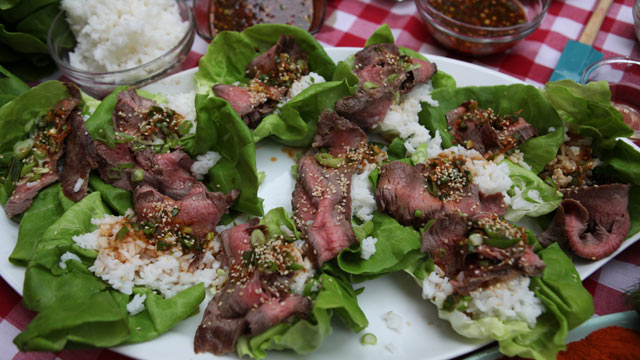 Sara Moulton 's Korean-Style Grilled Flank Steak | Recipe - ABC News
