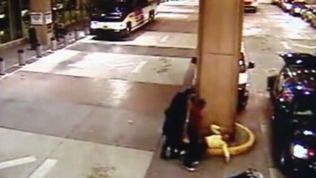 VIDEO: Man says he was victim of unprovoked attack involving singers security guards.