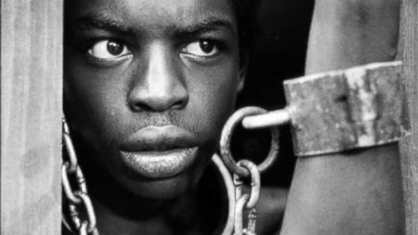 "PHOTO: LeVar Burton in ""Roots,"" January 1977."