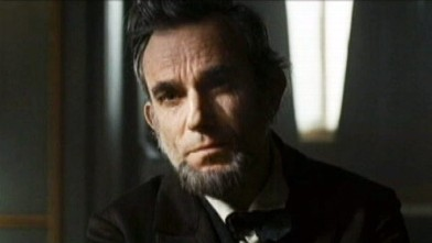PHOTO: Daniel Day Lewis as Abraham Lincoln.