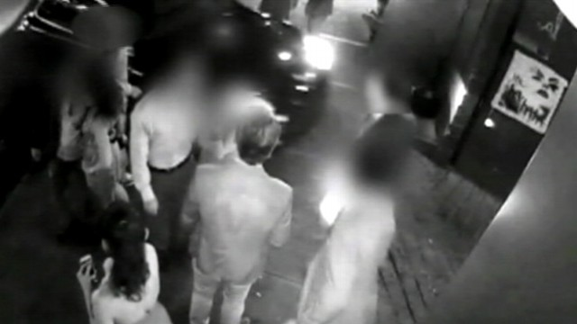 VIDEO: New York Police Department releases video of alleged victim outside hotel in Chelsea neighborhood.