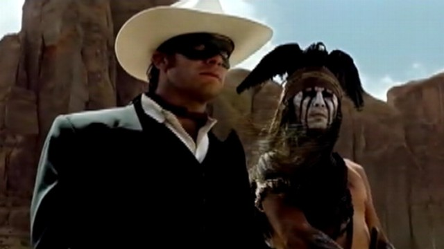VIDEO: Johnny Depp stars as Tonto in Disney/Jerry Bruckheimer Films movie set for a summer 2013 release.