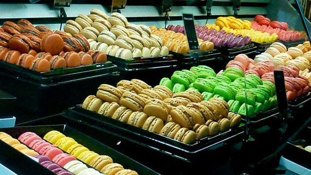 PHOTO: Macarons are the perfect gift for someone at home.