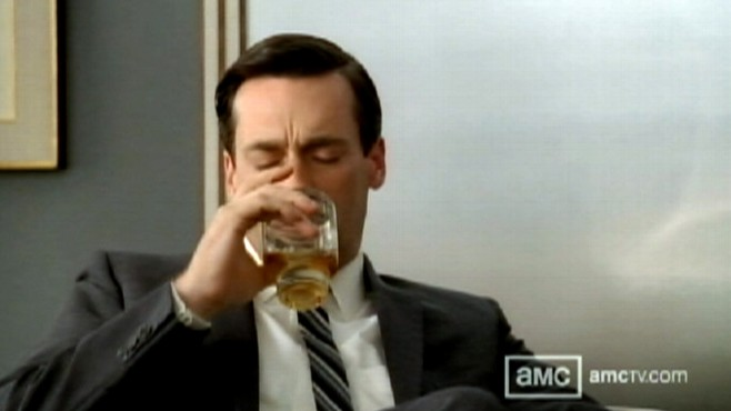 Video: Mad Men tackles alcoholism.