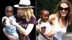 Madonna and Angelina Jolie