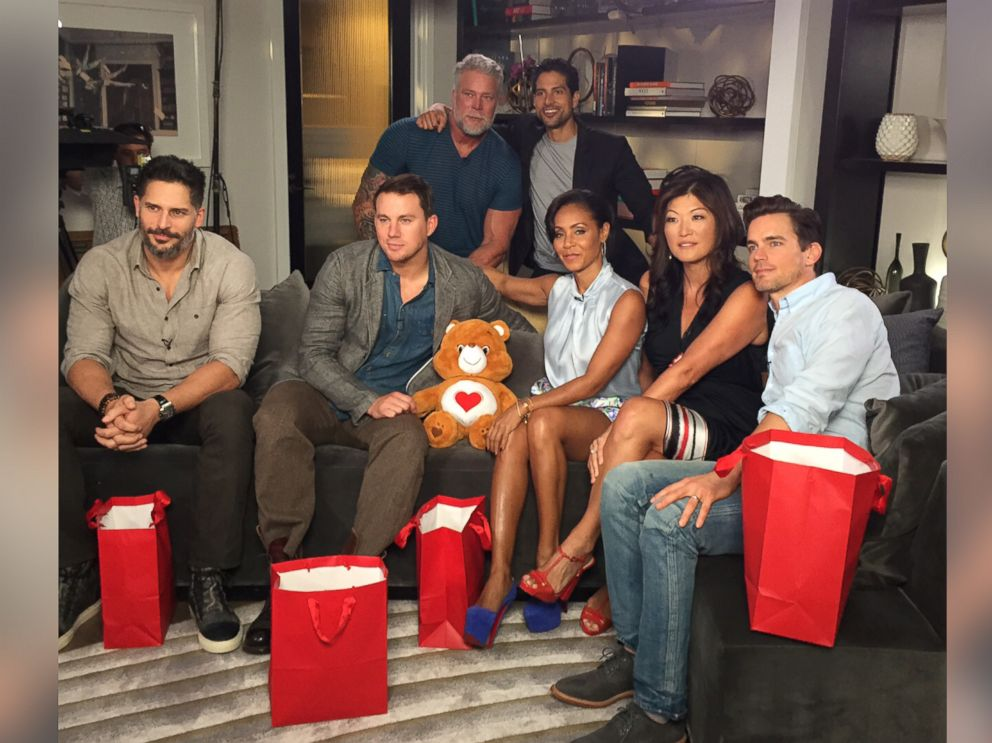 PHOTO: The Magic Mike XXL cast talked to ABC News Juju Chang about how they got their bodies in shape for the movie.