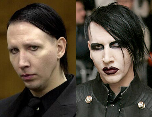 goth makeup how to. Celebrities Sans Make-up. Goth