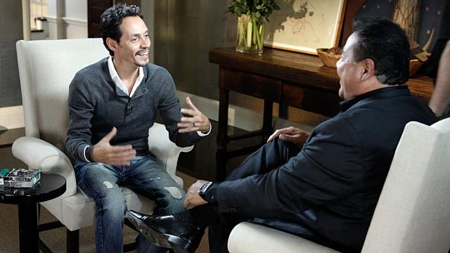 PHOTO: Marc Anthony sat down with ABC News John Quinones for his first interview since it was announced that Anthony and Jennifer Lopez were separating.