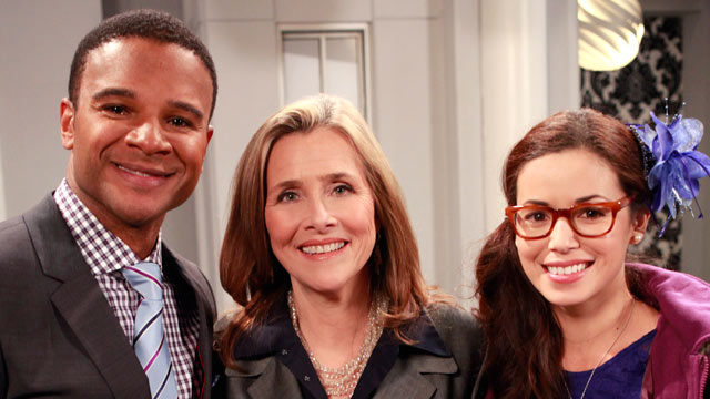 "PHOTO: Meredith Vieira made a cameo on ""General Hospital."""