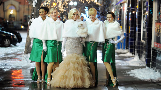 "PHOTO: ""25 Days of Christmas"" will feature the world premiere of the ABC Family original holiday musical, ""The Mistle-Tones,"" starring Tia Mowry and Tori Spelling."