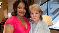 Photo: Barbara Walters Sits Down With Mo'Nique: 'Precious' Star Describes 'Open Marriage' and Lifelong Refusal to Shave Her Legs