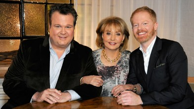 PHOTO: Eric Stonestreet and Jesse Tyler Ferguson, stars of &quot;Modern Family,&quot; made the list of Barbara Walters &quot;10 Most Fascinating People of 2011.&quot;