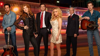 PHOTO: ABC's &quot;Nashville&quot; stars Connie Britton and Hayden Panettiere.