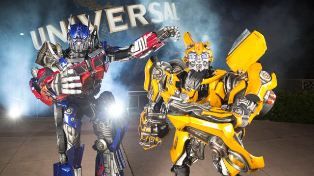 VIDEO: Transformers Ride Coming to Universal Studios