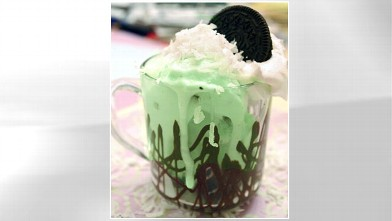 PHOTO: Lauren Torrisi's coconut mint Oreo sundae is shown here.