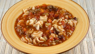 PHOTO: Stephanie O'Dea's pasta fagioli recipe