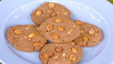 PHOTO: Peanut butter cookies from the kitchen of Dr. Howard Shapiro are shown here.