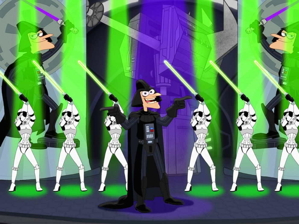 PHOTO: An adventure and action-filled television special, Phineas and Ferb: Star Wars, is set to premiere on July 26, 2014 on Disney Channel.