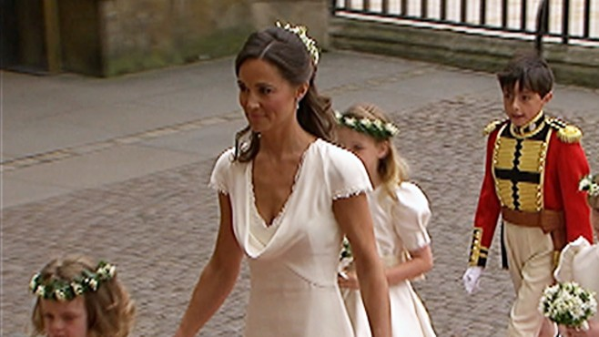 "VIDEO: ""The View"" debates Pippa Middleton sister wearing white at Kate Middletons wedding."