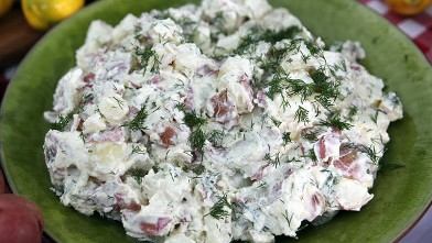 PHOTO: Carla Hall's lemony dill potato salad is shown here.