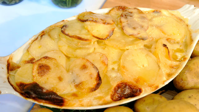 PHOTO: Jacques Pepin's Potatoes Gratin
