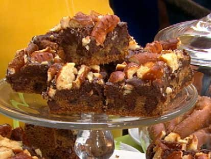 Gail Simmons' pretzel bars are shown here.